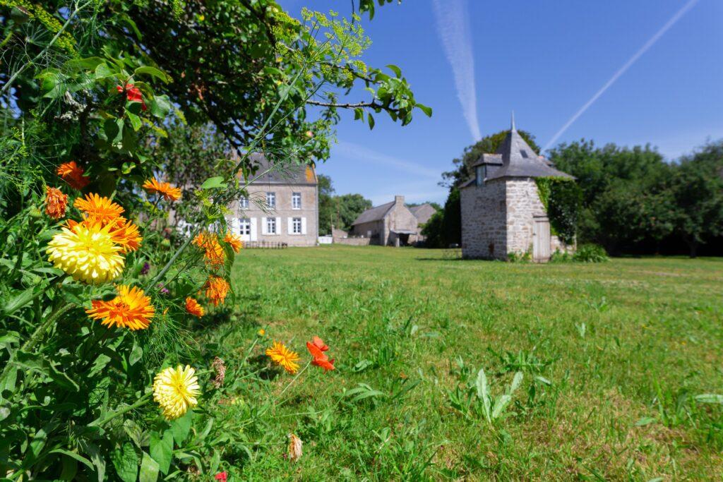 Grand jardin du Presbytère